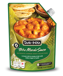 Taste of India Tikka Masala Simmer Sauce 450g (sold in boxes of 6)