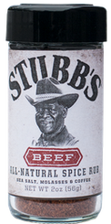 Stubbs Beef Rub 57g