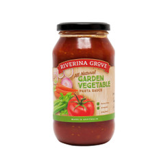 Riverina Grove Garden Vegetable Pasta Sauce  6x500g