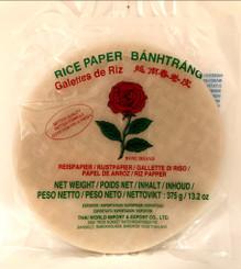 Rose Brand Rice Paper 22cm 375g (12)