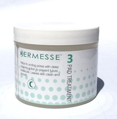 Acne Pads contain Salicylic Acid (beta-hydroxy acid) to penetrate and clean your pores, glycolic acid to gently exfoliate your skin and reduce clogging, and a nonionic surfactant to breakdown the skin oils.                  		 Salicylic Acid acts as a keratolytic agent; it causes the cells of the epidermis to slough off more readily thereby preventing pores from clogging and becoming infected with bacteria.