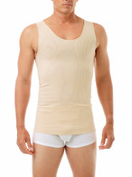 2nd Stage Post Surgical Tank Top Vest With 3 Inch Elastic Waistband