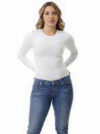 Women's lightweight long-sleeve compression shirt