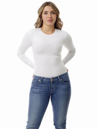 Women's lightweight long-sleeve compression shirt