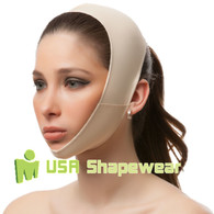 Surgical Face band Pillow Chin Strap for Post Surgery by LipoHealing, Inc.