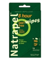 Natrapel 8 Hour Insect Repellent Wipes