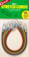 """Coghlan's 10"""" Mini Stretch Cords 4 Pack  #516"""