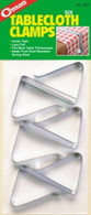 Coghlan's Table Cloth Clamps Pkg of 6  #527