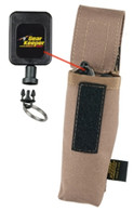 Gear Keeper Small Retractable Holster - Coyote