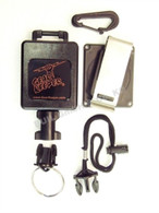 Gear Keeper  Large, Fire Flashlight Package Snap/Belt Mount QCII