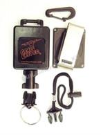 Gear Keeper  Large, Fire Flashlight Package Snap/Belt Mount QCII