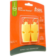 SOL Adventure Medical Kits Rescue Howler Whistle - Pack of 2