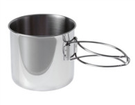 GSI Glacier Stainless Cup / Pot