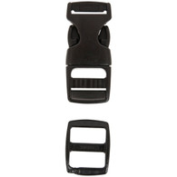 Liberty Mountain Side Release 5/8 inch Buckle With Slider