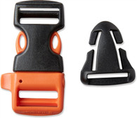 """Gear Aid Whistle Sternum Strap Buckle Kit - 3/4"""""""