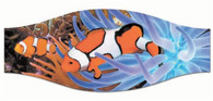 SeaScapes Clown Fish Mask Strap