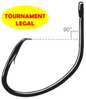 OWNER Hooks Tournament MUTU Light 6/0 - 3 pack