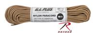 TAN  PARACORD 550LB NYLON 100 FT.