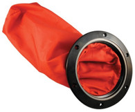 """Deck Plate Bag 4"""" Red with Stainless Steel Ring"""