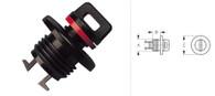 Drain Plug and Flange Press Fit