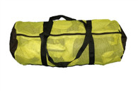 Snorkel and Beach Lightweight Mesh Gear Bag - Yellow