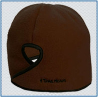 Trailheads Goodbye Girl Ponytail Hat - Brown Fleece w/ Black Trim