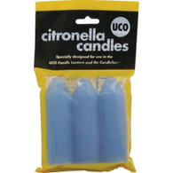 UCO 9 Hour Slow Burning Citronella Candles 3 Pack