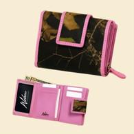 Weber's Women's Trifold Wallet, Mossy Pink