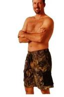 Weber Men's Cargo Board Shorts - Small