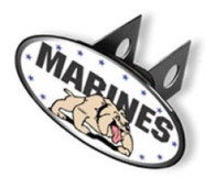 Trailer Hitch Cover -  Marines - WP225