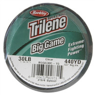 Berkley Trilene Big Game 30lb. 440yards Monofilament Fishing Line - Clear