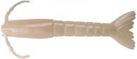 "Berkley  3"" Gulp! Saltwater Shrimp Pearl White Color"