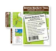 BENTON MACKAYE TRAIL ELEVATION PROFILE MAP SET