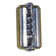 Safety Light Strobe 180 PRO - Red Lights / Clear Lens by DuravisonPro