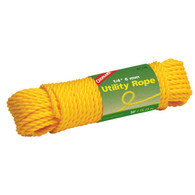 Coghlan's Utility Cord 1/4 in X 50 ft. - Yellow