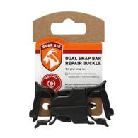 """MCNETT 80490 Dual Snap Bar Repair Buckle 1"""""""