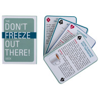 Dont Freeze Out There Card Deck