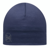 Buff Merino Wool Hat - Denim