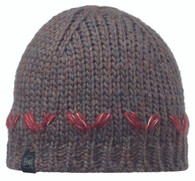 Buff Knitted Hat - Lile Brown