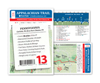 Appalachian Trail Map AT-13