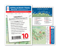 Appalachian Trail Map AT-10