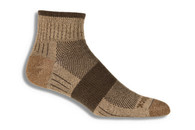 Wrightsock Escape Quarter Socks Medium Khaki