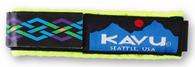 Kavu Watchband, Neon Rope Pattern, Large