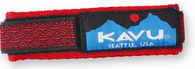 Kavu Watchband, Red BraId Pattern, Large