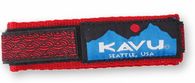 Kavu Watchband, Red Braid Pattern, Small