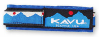 Kavu Watchband, Logo Pattern, Small