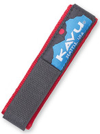 Kavu Watchband, Solid Red, Large