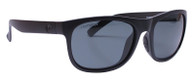 Reflekt Unsinkable Polarized Sunglasses Nomad - Raven with ColorBlast Grey Lens