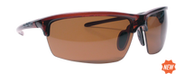 Reflekt Unsinkable Polarized Sunglasses Vapor - Caramel with Color Blast Brown Lens