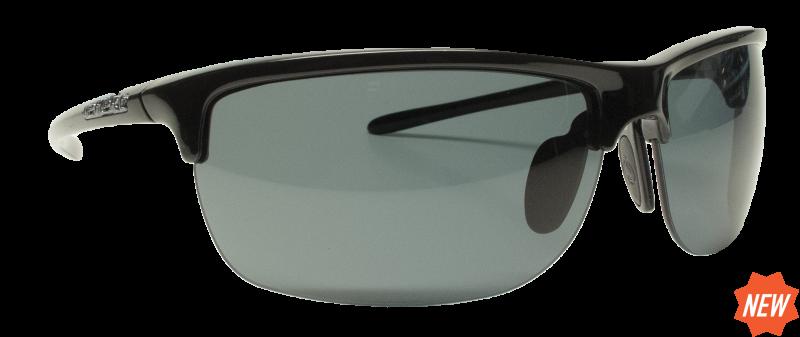 bc3b5eb1846 Reflekt Unsinkable Polarized Sunglasses Vapor 2.0 - Ebony with Color Blast  Grey Lens - Go2 Outfitters
